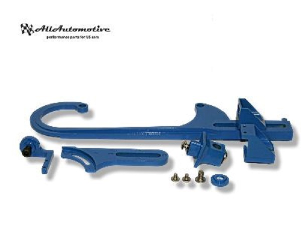 Vergaser Gaszughalter Kit Chrysler Ford Chevrolet blau